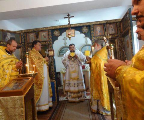 Освящение храма Петра и Павла